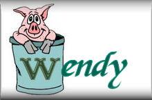 Wendy name graphics