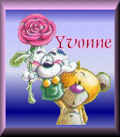 Yvonne name graphics