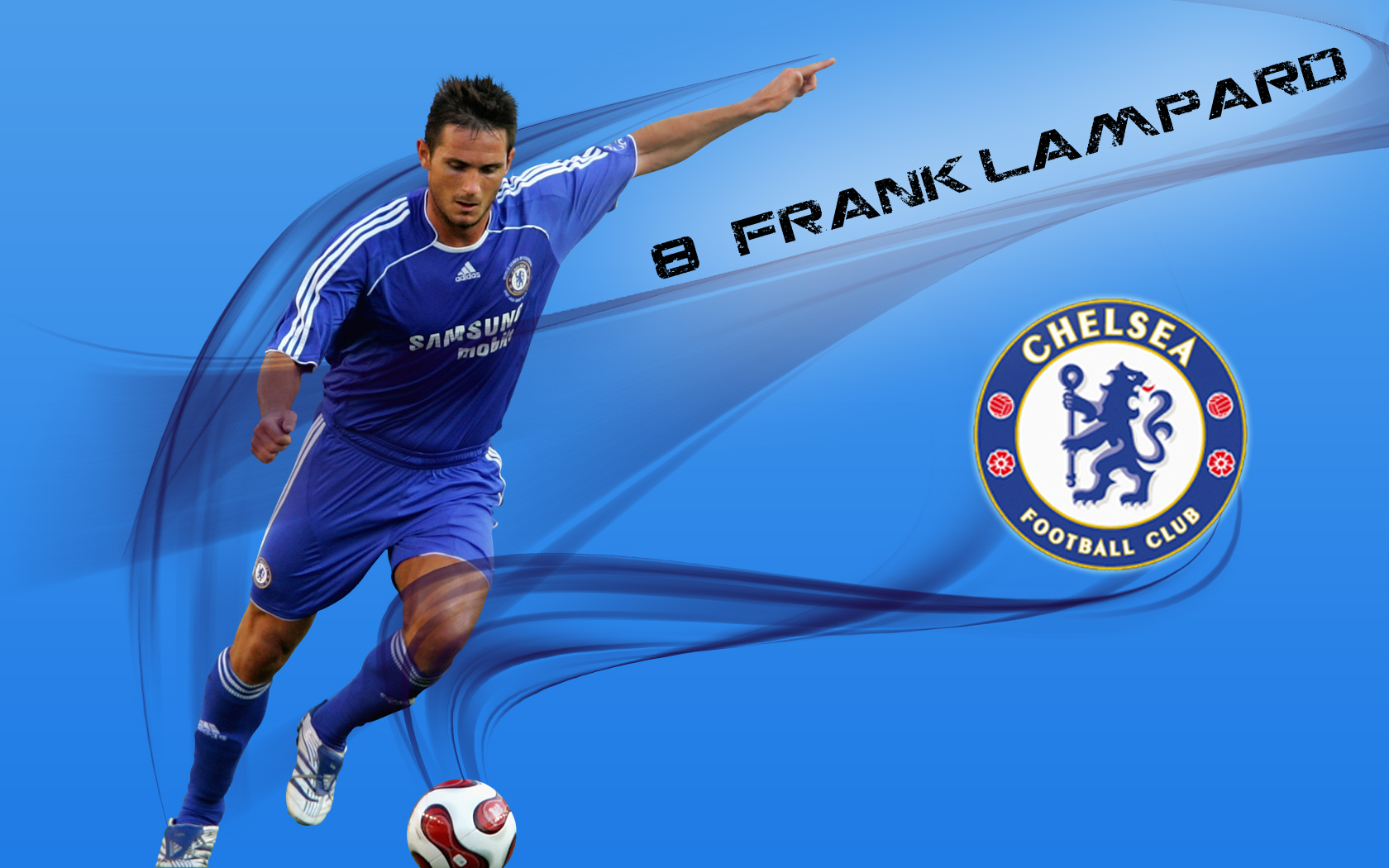 Soccer graphics Frank lampard