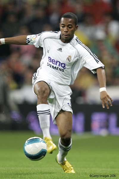 Robinho soccer graphics