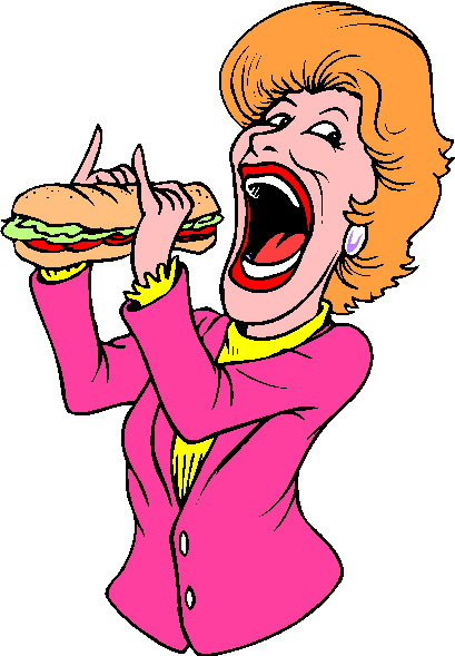 Clip Art - Clip art eating 992262