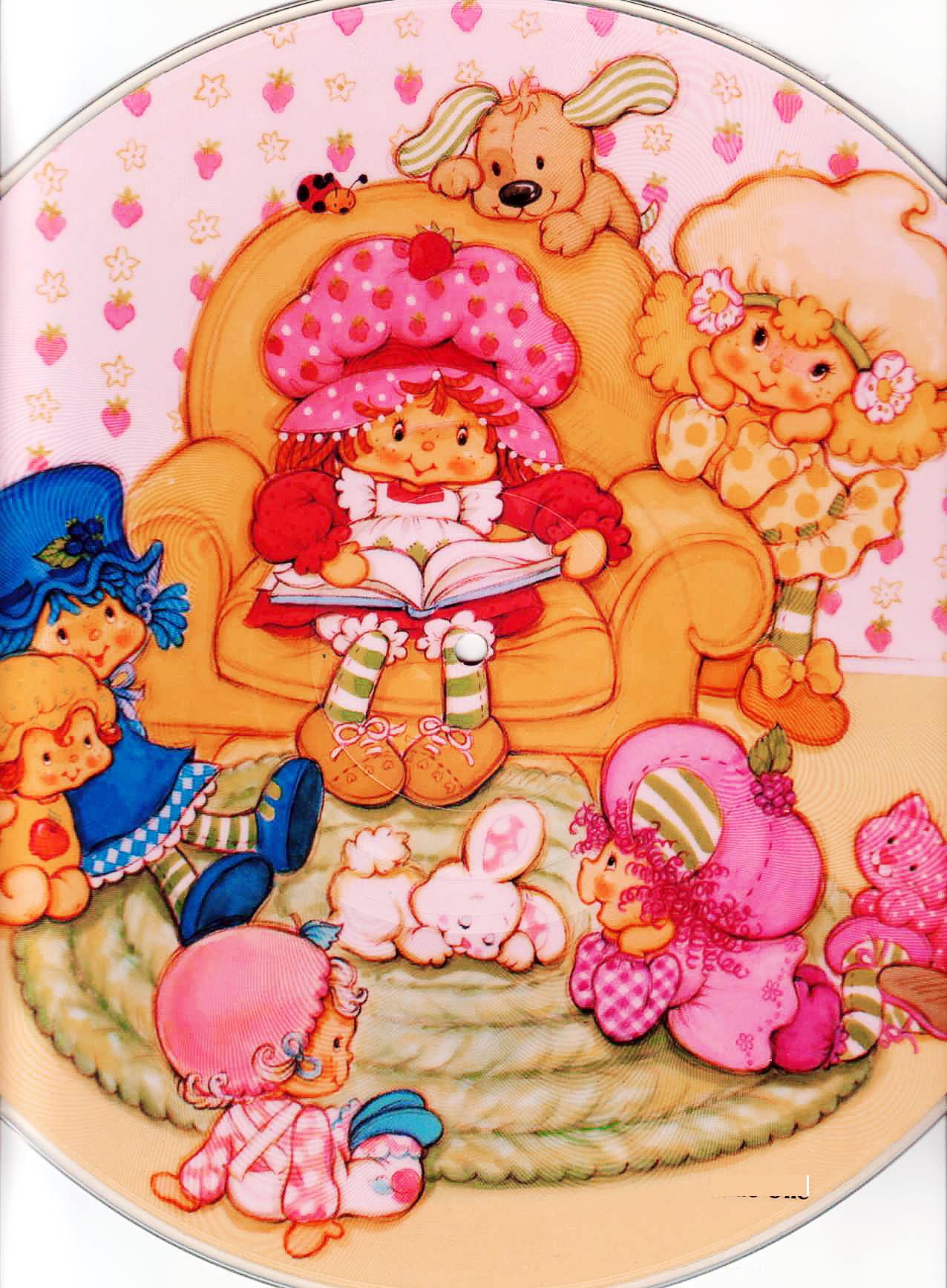 Clip Art - Clip art strawberry shortcake 207944