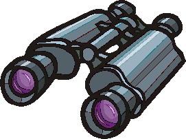 binoculars clipart - photo #7