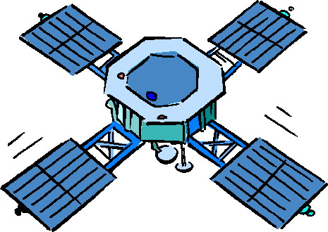 Clip Art - Clip art satellite 651616