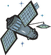 Clip Art - Clip art satellite 668496