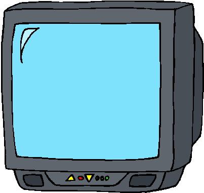 Clip Art - Clip art television 313339
