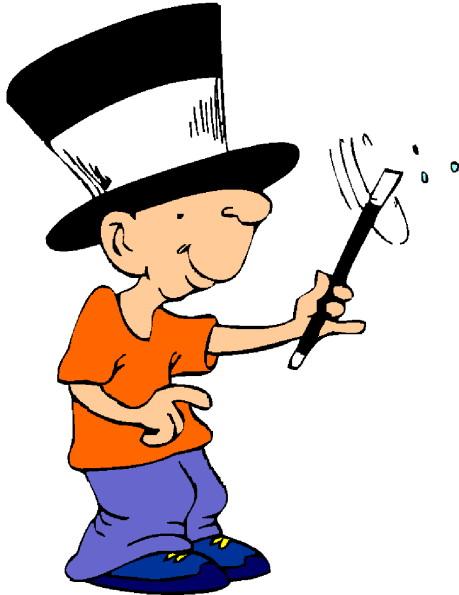 Clip Art - Clip art magic tricks 610698