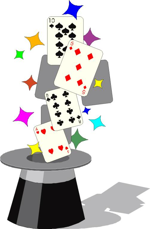 Clip Art - Clip art magic tricks 857117