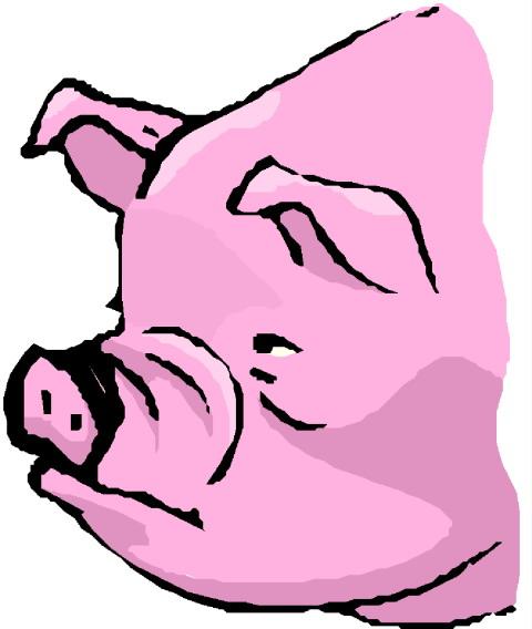 Clip Art - Clip art pigs 630071