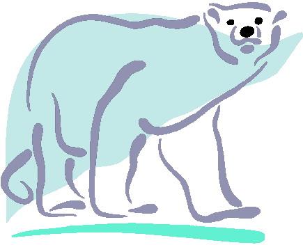 Clip Art - Clip art polar bears 483637