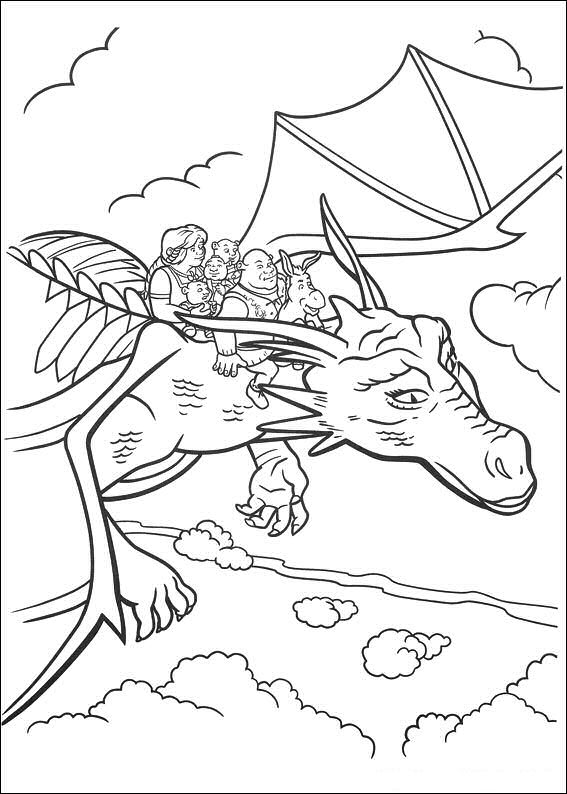 Coloring page shrek 4 coloring pages 18 for Shrek 4 coloring pages