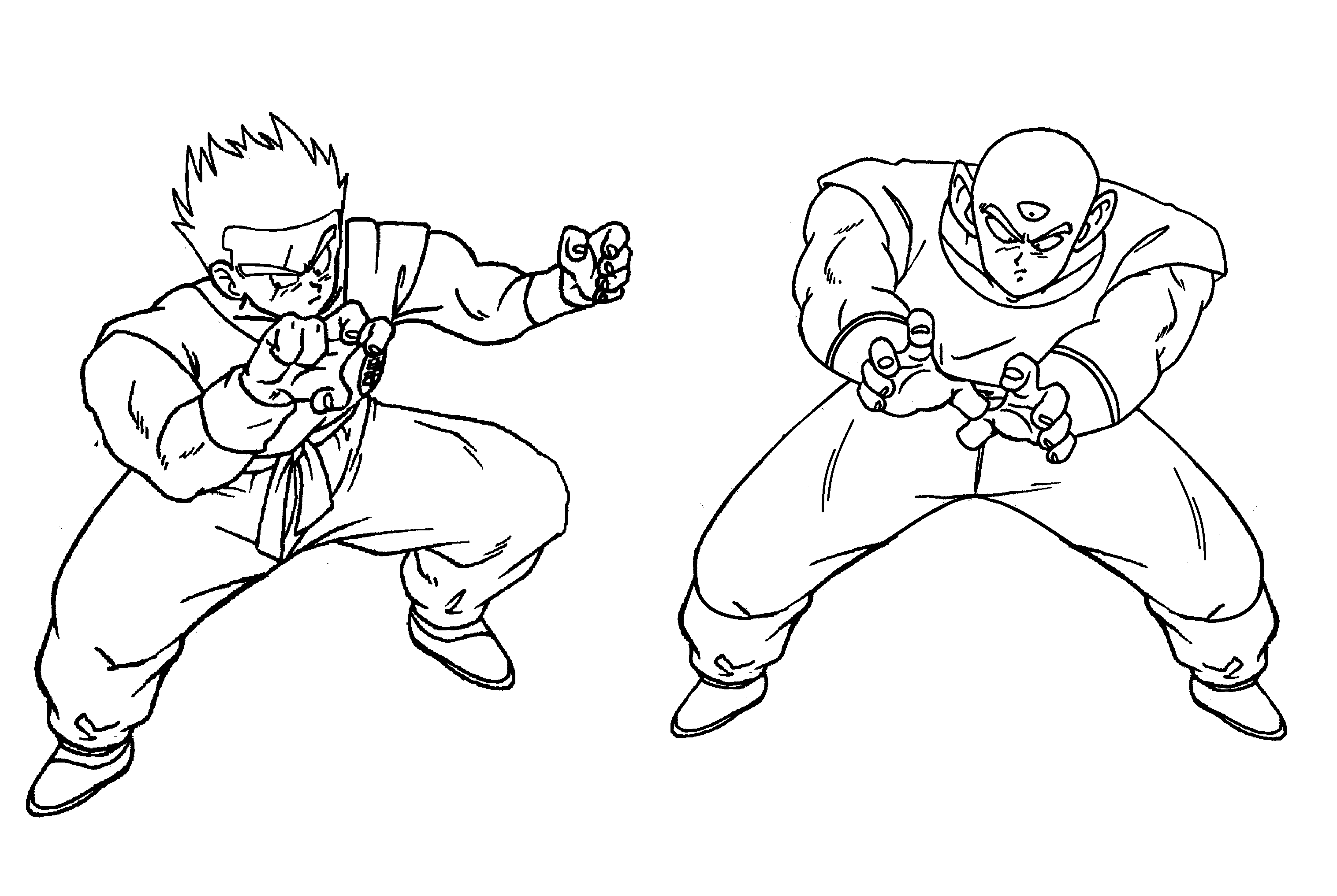 Tien Pages Coloring Pages