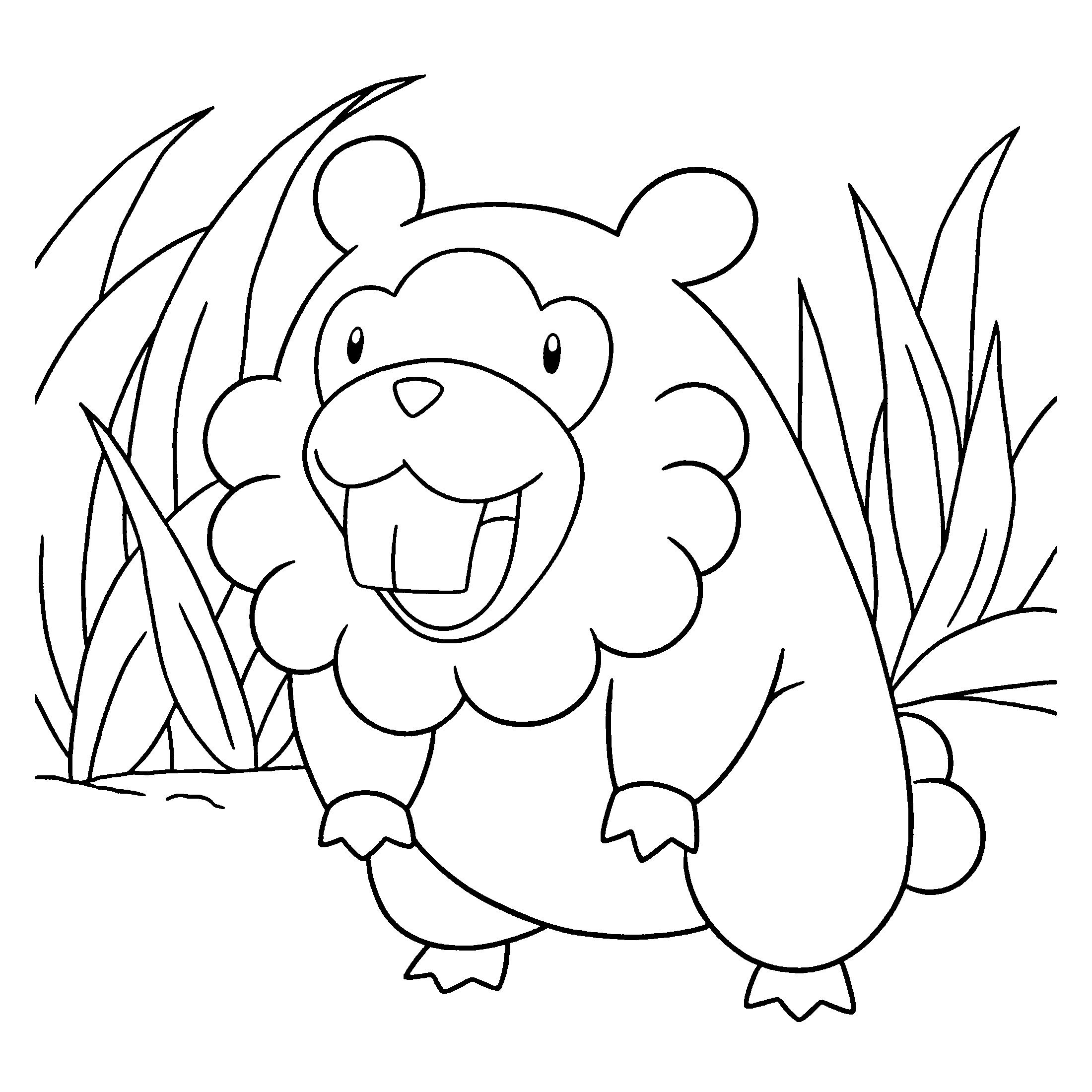 pakemon diamond pearl coloring pages - photo #15