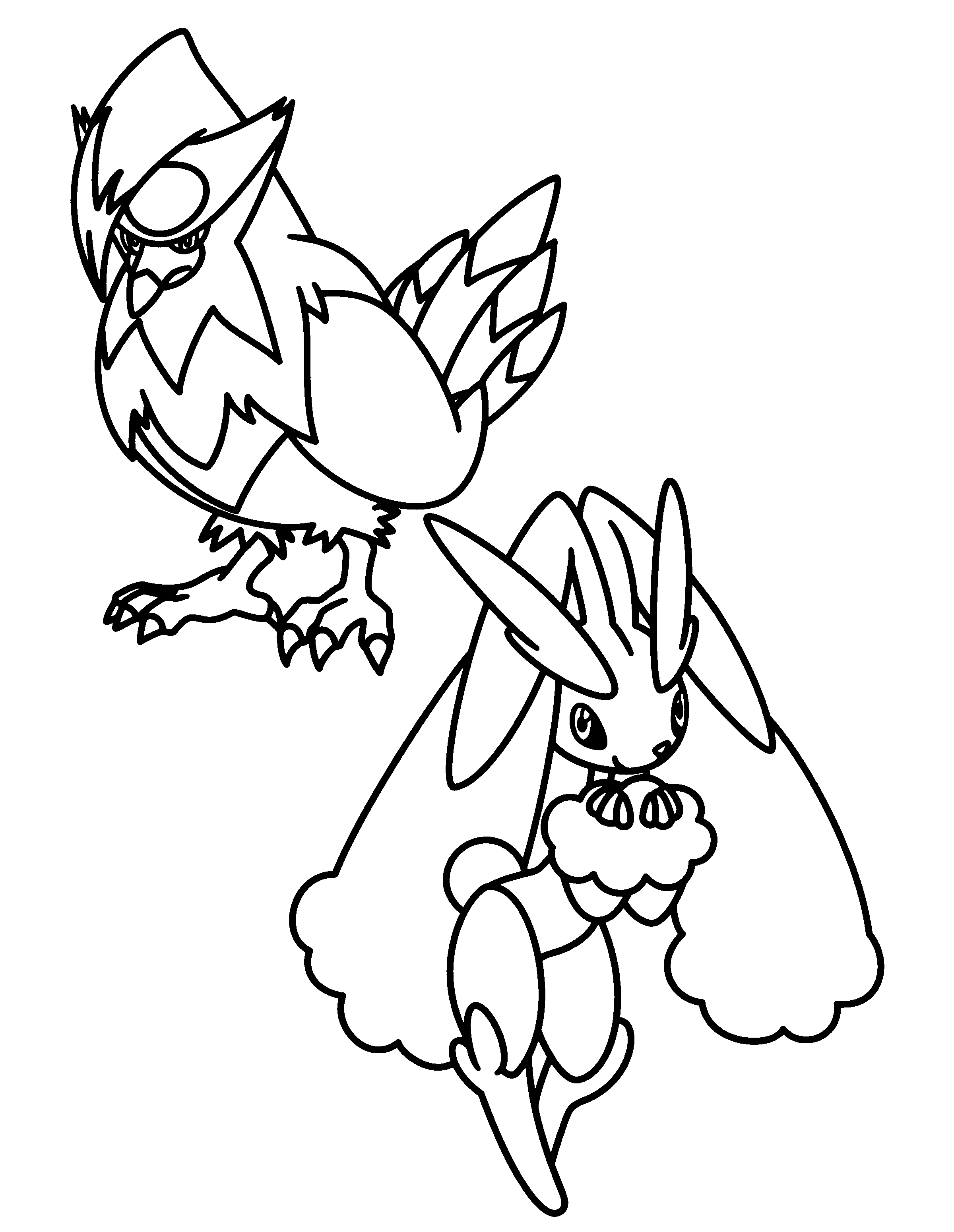 pokemon dimond coloring pages - photo#5