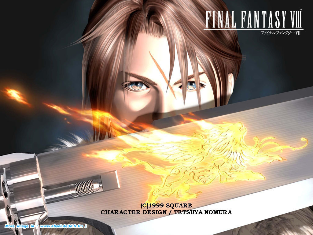 pics photos final fantasy viii wallpapers