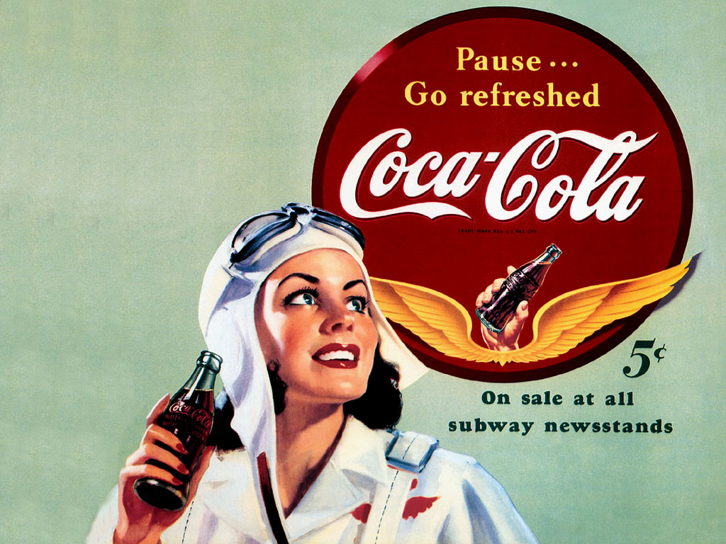 Pc naver - Vintage coke wallpaper ...