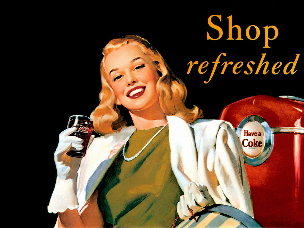 Wallpapers coca cola 567938 wallpaper - Vintage coke wallpaper ...